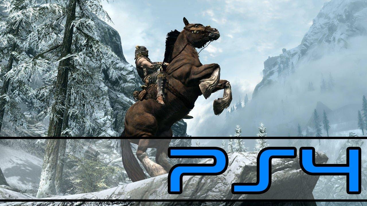 PS4, Play Station, Skyrim