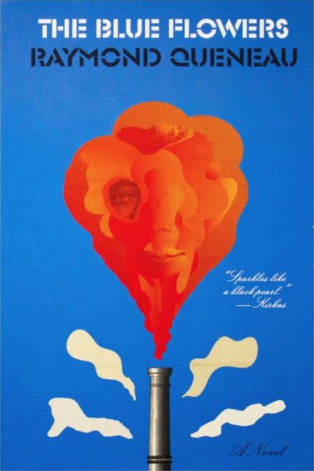 Raymond Queneau, <em>The Blue Flowers</em>, design by Peter Mendlesund (New Directions)