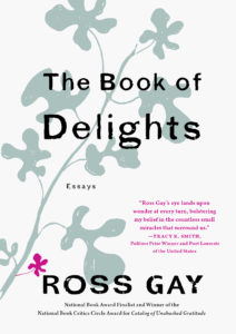 book of delights ross gay cover