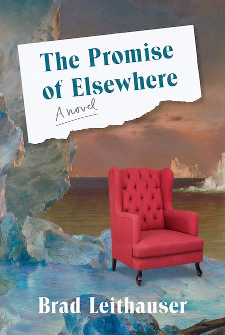 Brad Leithauser, <em>The Promise of Elsewhere</em>, Knopf; design by Jenny Carrow (March 26, 2019)