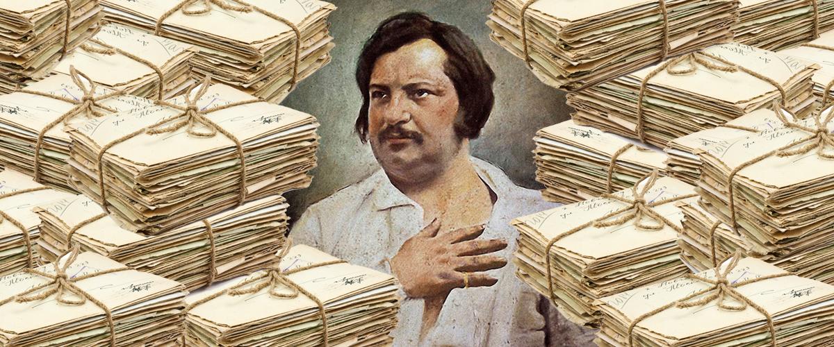 Honoré De Balzacs Legendary Love Affair With His Anonymous