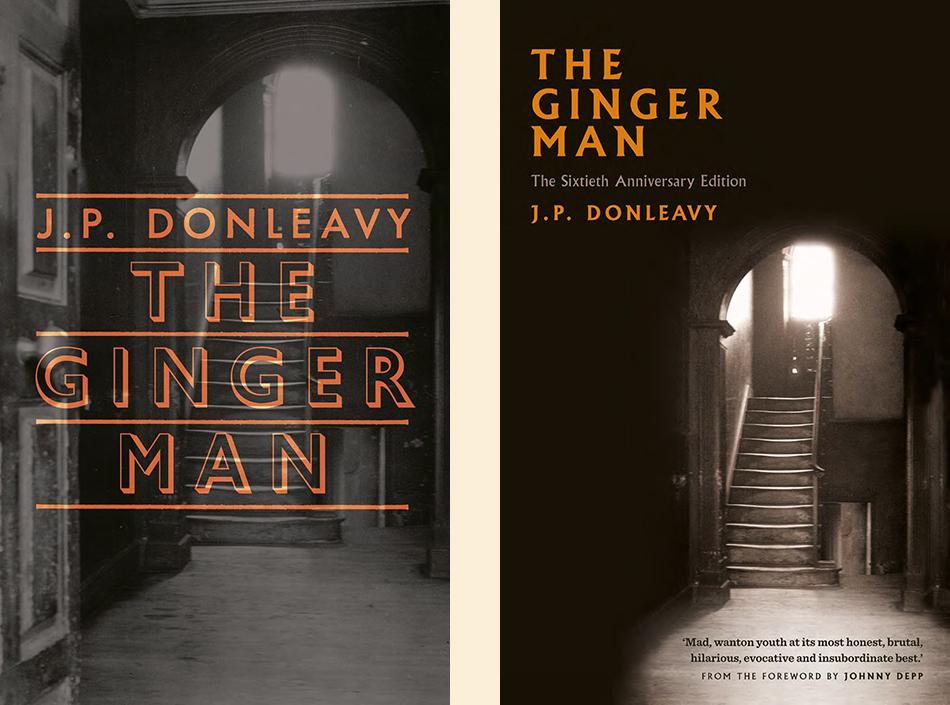 J.P. Donleavy, <em>The Ginger Man</em>; unused design by Niall McCormack for The Lilliput Press, Ireland, 2015