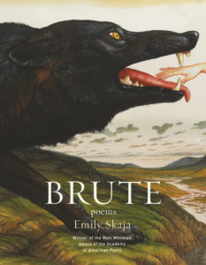 Emily Skaja, Brute, Graywolf; design by Mary Austin Speaker, art: WaltonFord, Gleipnir (April 2, 2019)