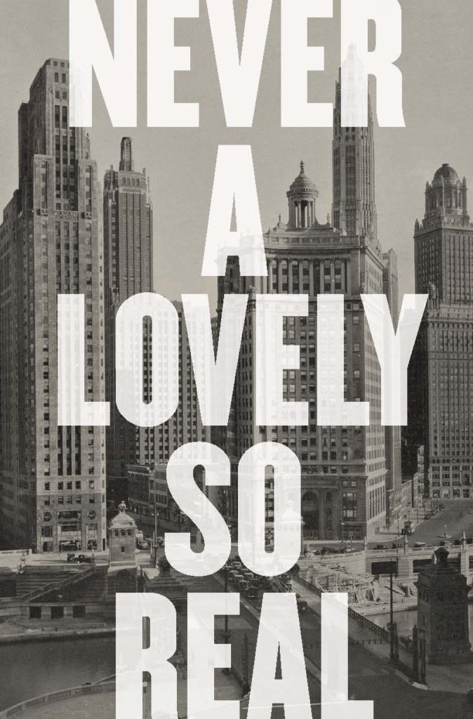 Colin Asher, <em>Never a Lovely So Real</em>, W. W. Norton; design by Jonathan Bush, art direction by Steve Attardo (April 15, 2019)