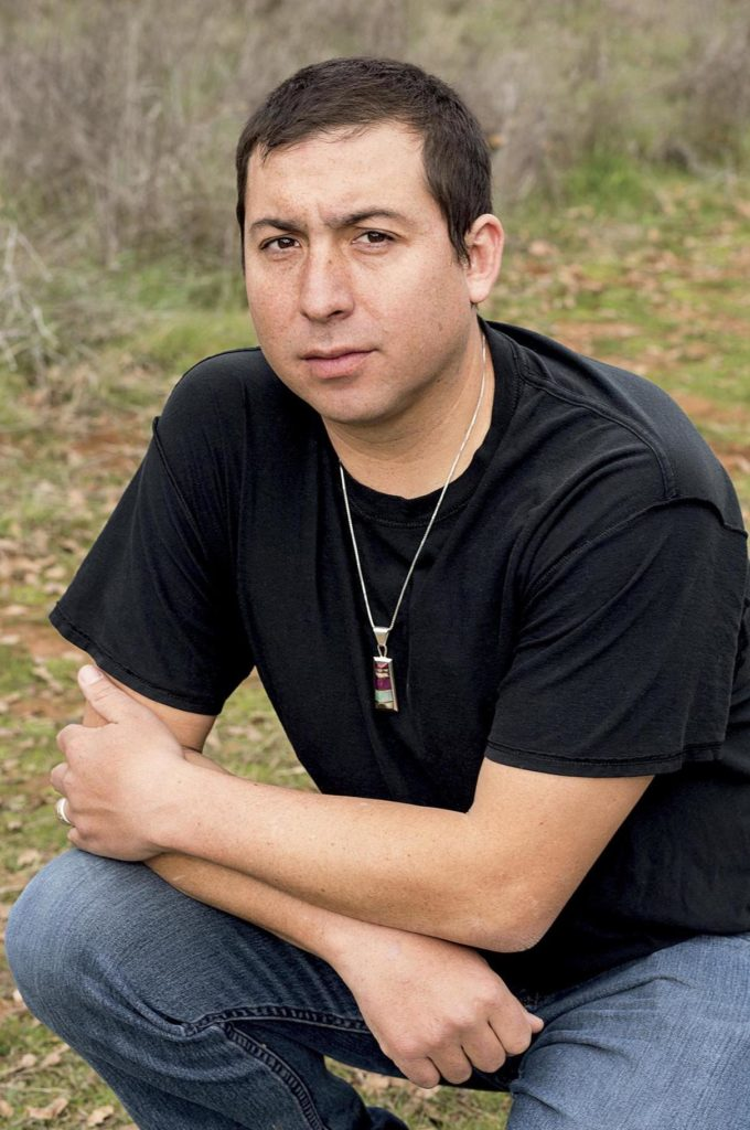 Tommy Orange (Photo by Elena Seibert)