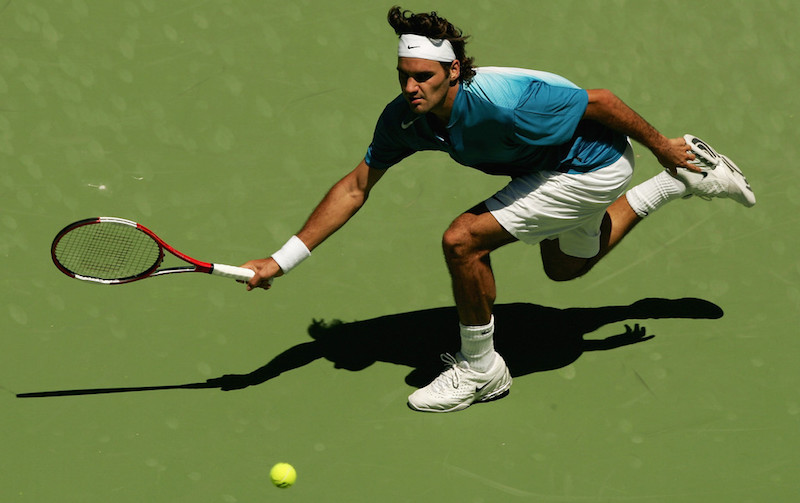 Did David Foster Wallace Kind Of Make Up Roger Federer S Matrix Like Shot Vs Andre Agassi Literary Hub