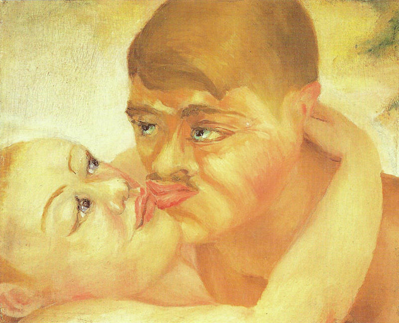 D. H. Lawrence, Close Up Kiss