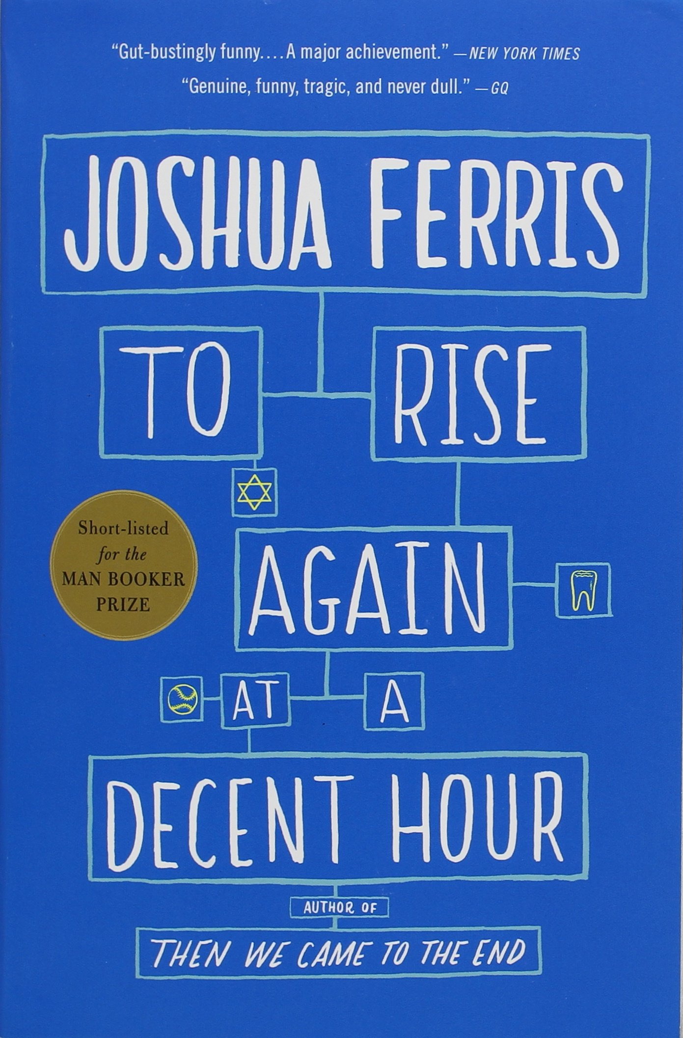To Rise Again at Decent Hour by Joshua Ferris