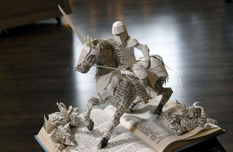 What book would you choose to have made into a paper sculpture?