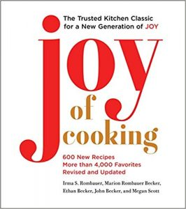John Becker and Megan Scott, Joy of Cooking: 2019 Edition Fully Revised and Updated