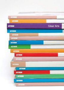 César Aira, tr. Katherine Silver, Artforum