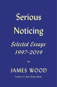 James Wood, Serious Noticing