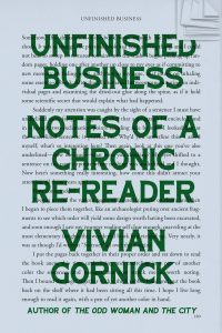 Vivian Gornick, Unfinished Business