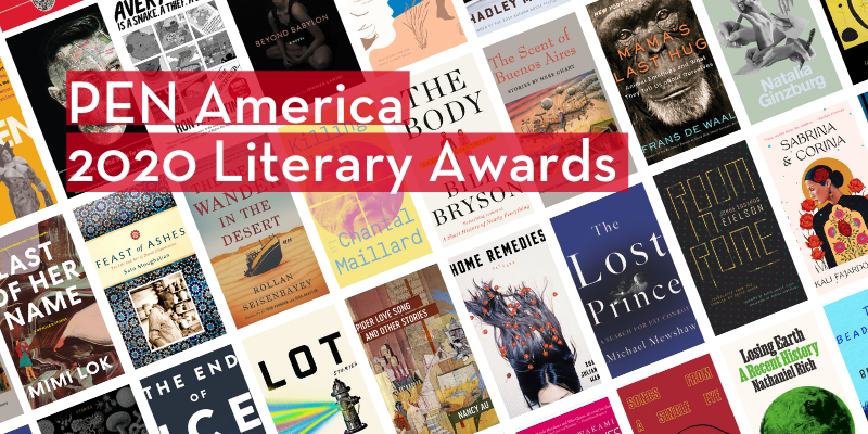 Here are PEN America's 2020 literary awards longlists.