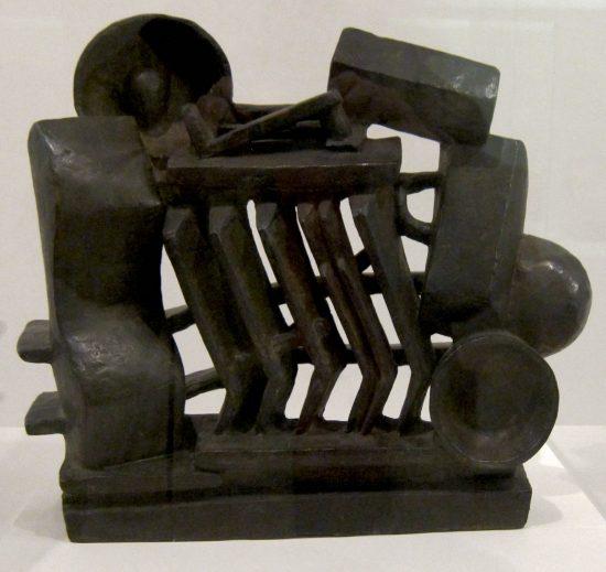 composition Giacometti