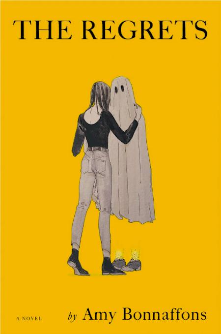 Amy Bonnaffons, <em>The Regrets</em>; design by Julianna Lee, illustration by Mio Im (Little, Brown, February 4)