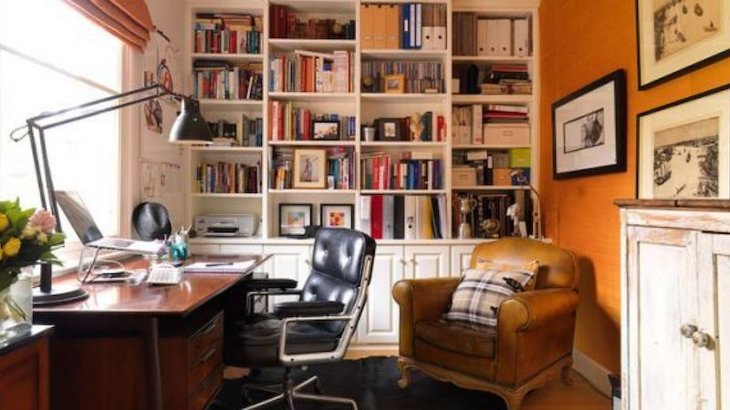 How To Organize Your Home Office Literary Hub,Smart Home Systems Reviews