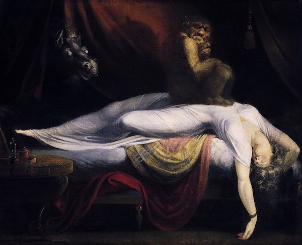 John Henry Fuseli, The Nightmare, 1781. Detroit Institute of Arts