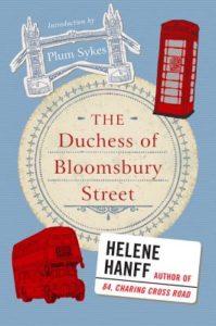 duchess of bloomsbury street, helene hanff