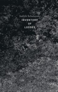 inventory of losses, Judith Schalansky