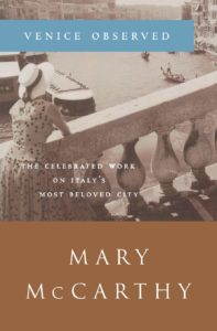 Mary McCarthy,Venice Observed