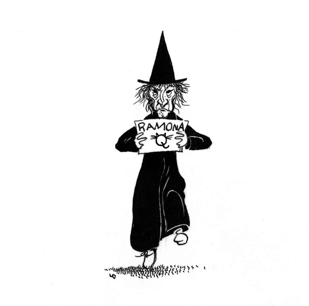 Louis Darling witch sign