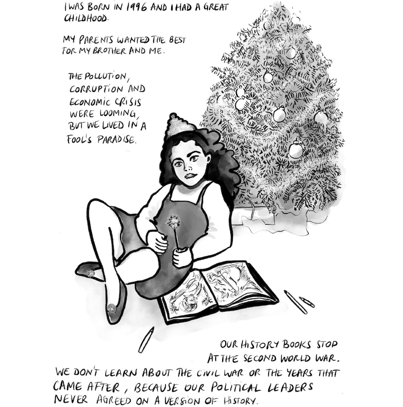 Graphic Novel 'Waiting for Normal,' Delacorte Review, image 4