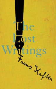 The Lost Writings_Franz Kafka