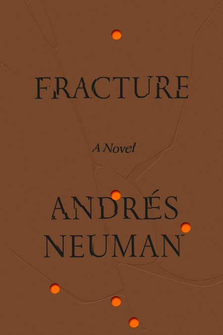"<strong>Andrés Neuman, <a href=""https://bookshop.org/a/132/9780374158231"" target=""_blank"" rel=""noopener""><em>Fracture</em></a>; cover design by June Park (FSG, May)</strong>"