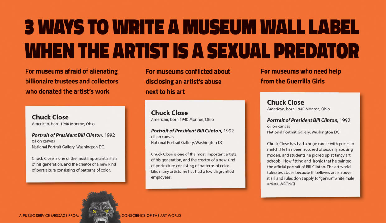 The Guerrilla Girls