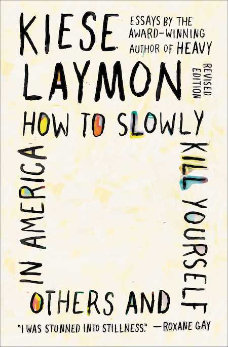 "<strong>Kiese Laymon, <a href=""https://bookshop.org/a/132/9781982170820"" target=""_blank"" rel=""noopener""><em>How to Slowly Kill Yourself and Others in America</em></a>; cover design by Jaya Miceli (Scribner, November)</strong>"