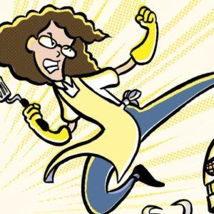 The Real Life Hero(es) Behind Jarrett J. Krosoczka's<br> <em>Lunch Lady</em> Series