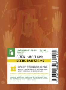 Simon Hanselmann, Seeds and Stems