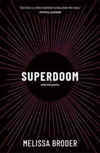 Melissa Broder, Superdoom: Selected Poems