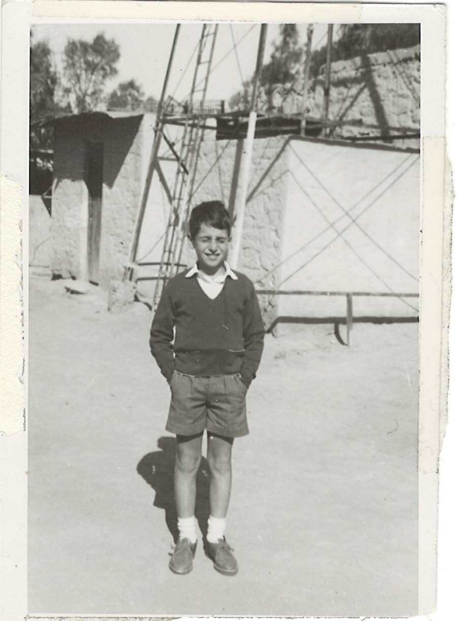 Andre Aciman as a boy