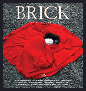 Brick, A Literary Journal issue 106