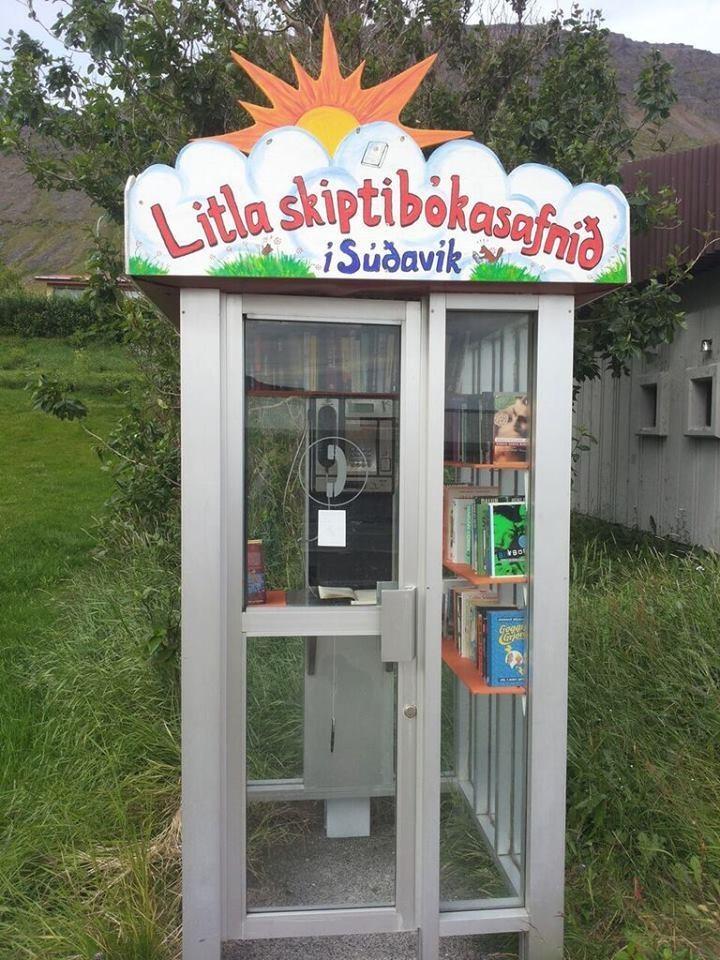 Litla skiptibokasafnid, Sudavik, Iceland