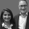 Edward Brodkin and Ashley Pallathra