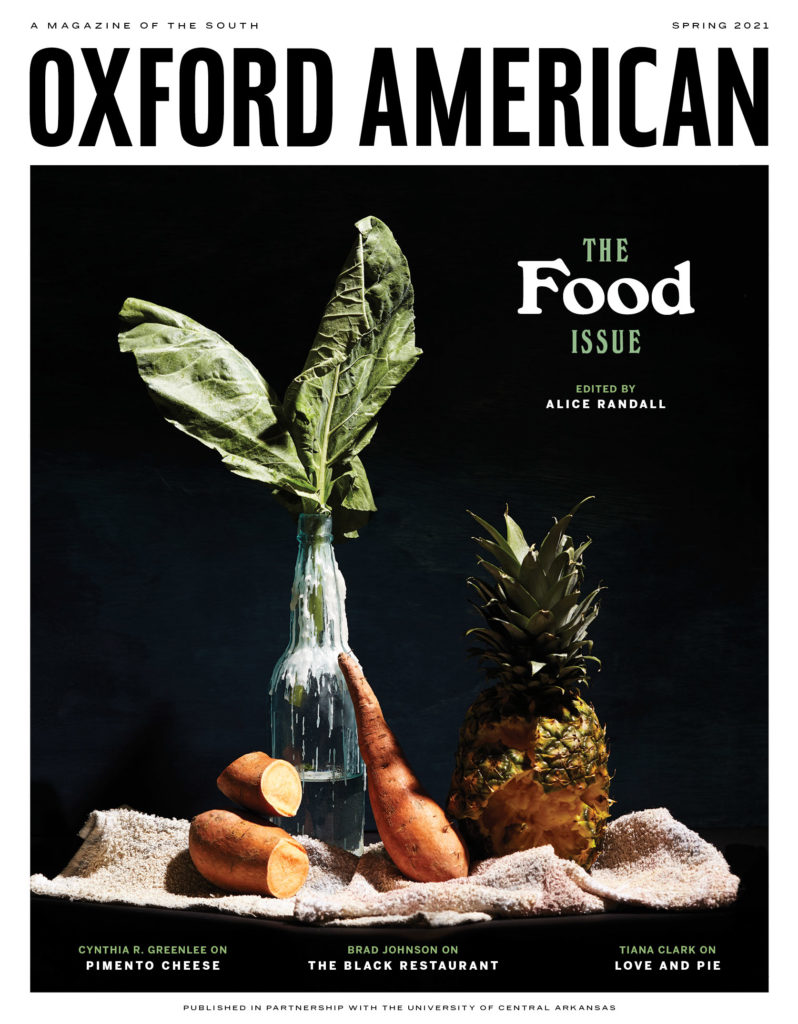 Oxford American Spring 2021, Food Issue