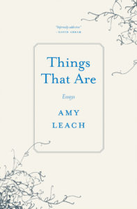 Amy Leach, Things That Are