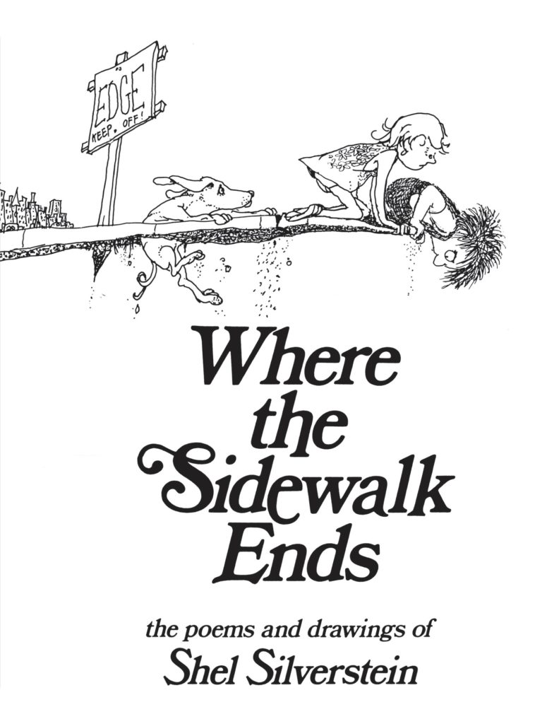 Where the Sidewalk Ends_Shel Silverstein