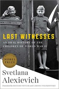 Last Witnesses_Svetlana Alexievich