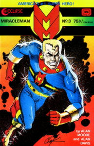 Marvelman Alan Moore and Alan Davis