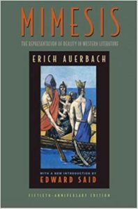 Mimesis The Representation of Reality in Western LiteraturebyErich Auerbach