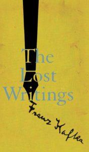 Lost Writings Franz Kafka