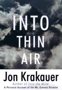 Into Thin Air Jon Krakauer