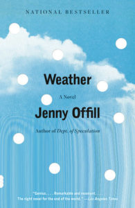 Weather Jenny Offill paperback
