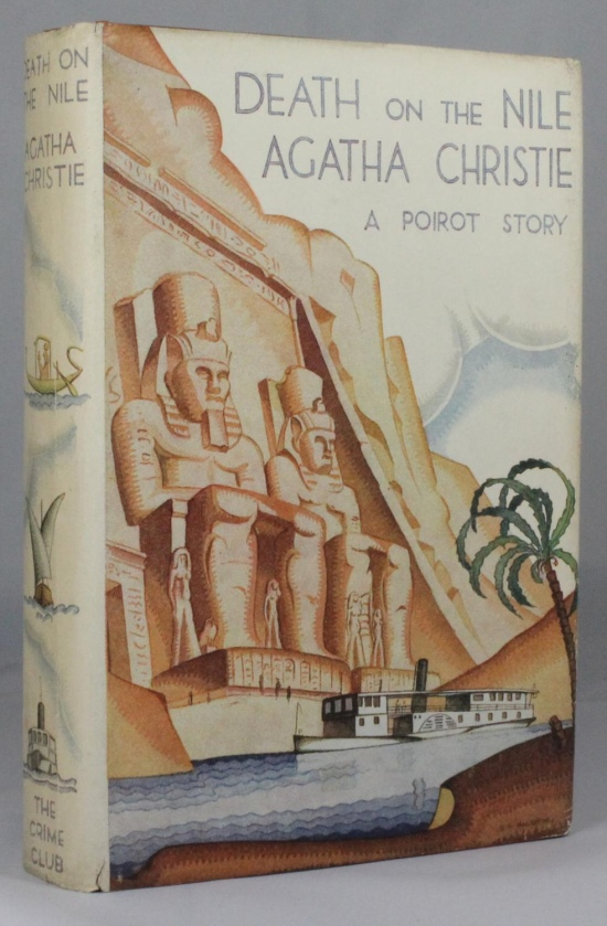 Christie Death on the Nile 1st Crime Club 1937
