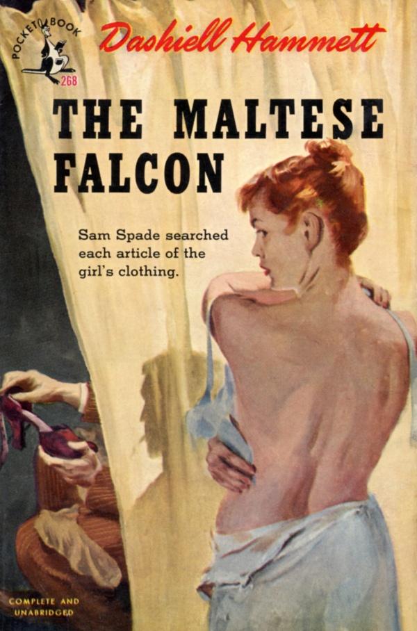 Hammett Maltese Falcon Pocket Book 1945