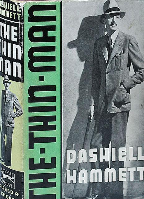 Hammett Thin Man 1st Knopf 1934 Captain Ahabs Rare Books